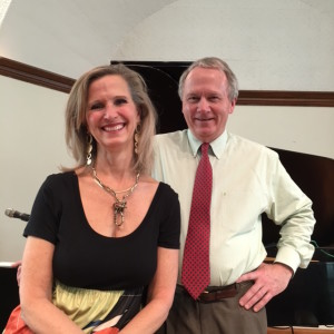 Kent Allyn and I after our concert